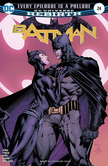 Batman Cover - 8/1/2017