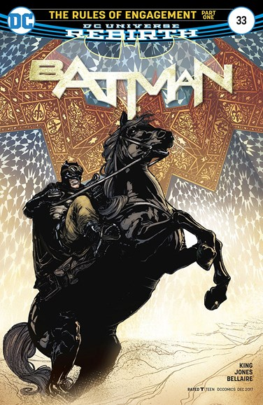Batman Cover - 12/15/2017