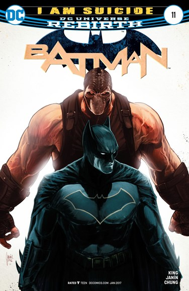Batman Cover - 1/15/2017