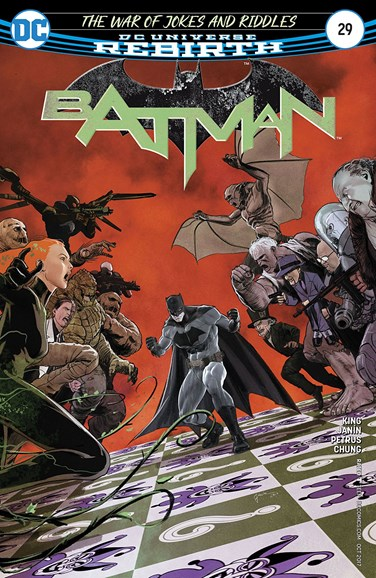 Batman Cover - 10/15/2017