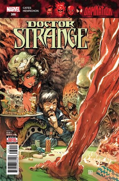Doctor Strange Cover - 4/15/2018