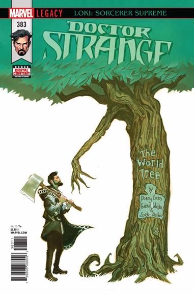 Doctor Strange Cover - 2/15/2018