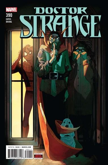 Doctor Strange Cover - 7/1/2018