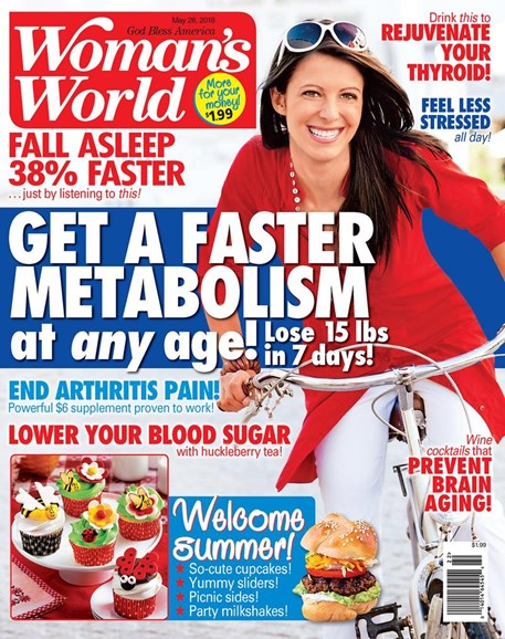 Woman's World Cover - 5/28/2018