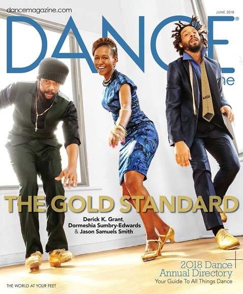 Dance Magazine Cover - 6/1/2018
