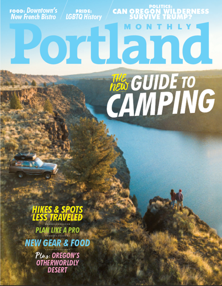 Portland Monthly Cover - 6/1/2018