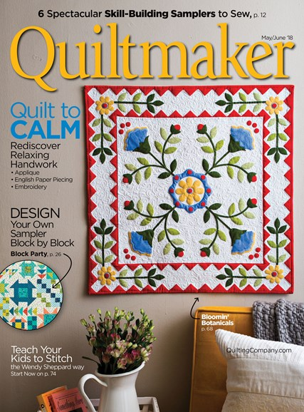 Quiltmaker Cover - 5/1/2018