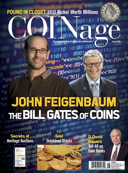Coinage Cover - 6/1/2018