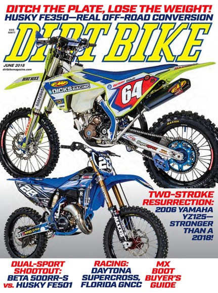 Dirt Bike Cover - 6/1/2018