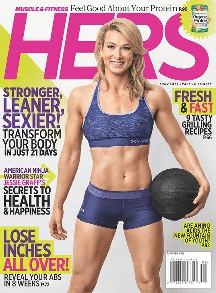 Muscle & Fitness Hers Cover - 6/1/2018