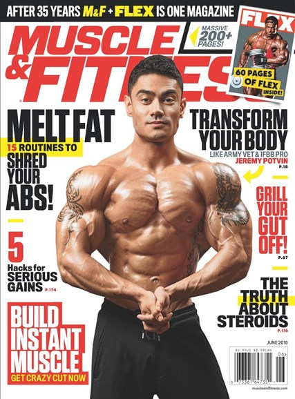 Muscle & Fitness Cover - 6/1/2018