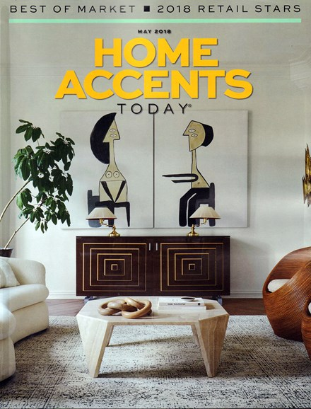 Home Accents Today Cover - 5/1/2018