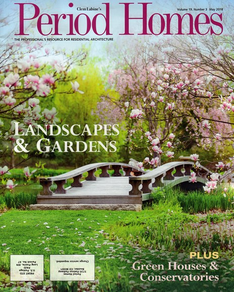 Period Homes Cover - 5/1/2018