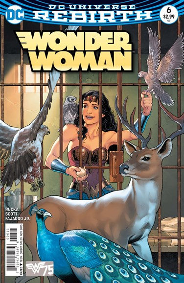 Wonder Woman Cover - 11/1/2016