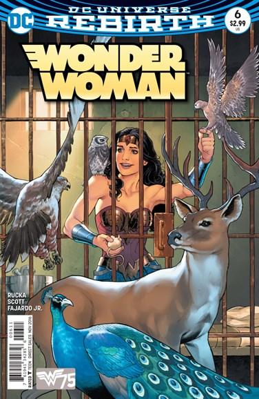 Wonder Woman Cover - 11/1/2016