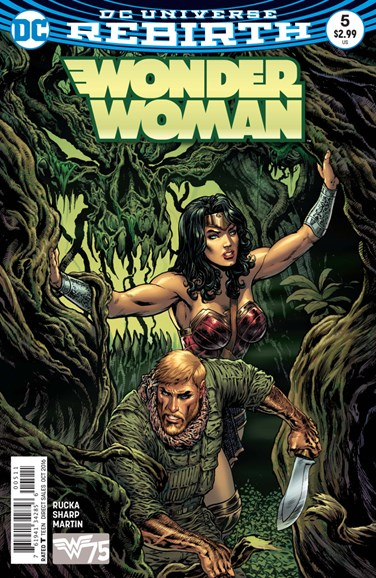 Wonder Woman Cover - 10/15/2016