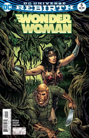 Wonder Woman Cover - 10/15/2016