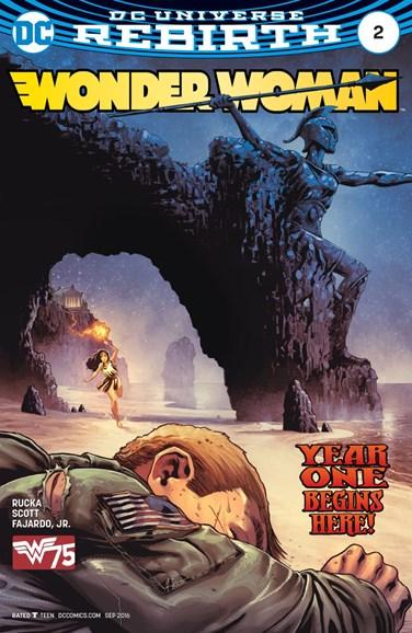 Wonder Woman Cover - 9/1/2016