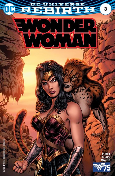 Wonder Woman Cover - 9/15/2016
