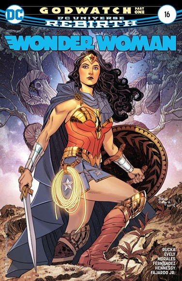 Wonder Woman Cover - 4/1/2017