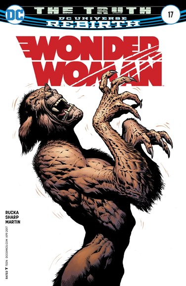Wonder Woman Cover - 4/15/2017