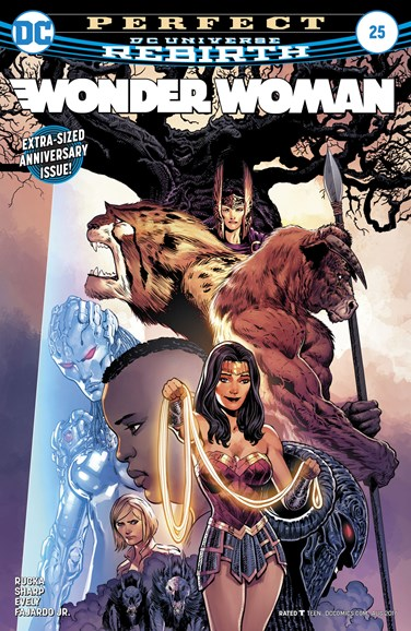 Wonder Woman Cover - 8/15/2017