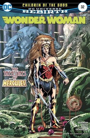 Wonder Woman Cover - 12/1/2017