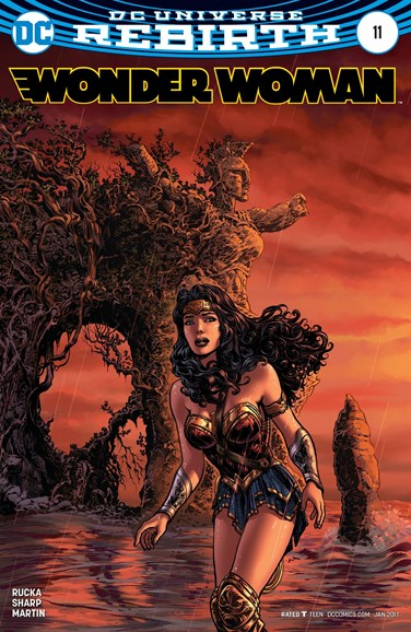 Wonder Woman Cover - 1/15/2017