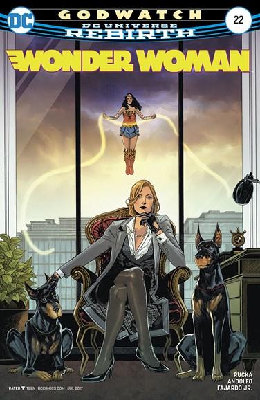Wonder Woman Cover - 7/1/2017