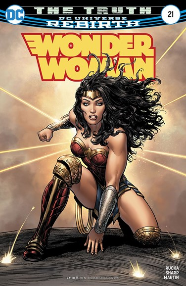 Wonder Woman Cover - 6/15/2017