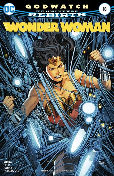 Wonder Woman Cover - 5/1/2017