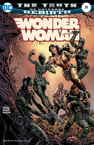 Wonder Woman Cover - 5/15/2017