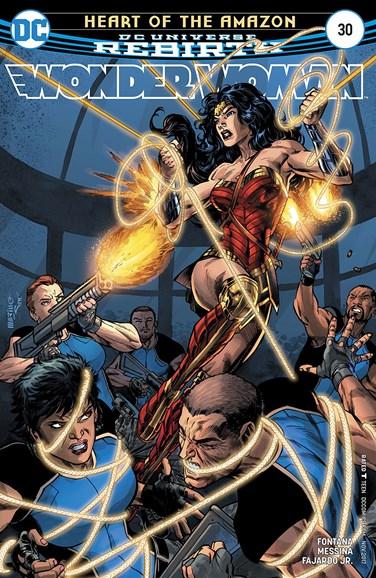 Wonder Woman Cover - 11/1/2017