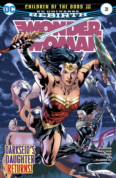 Wonder Woman Cover - 11/15/2017