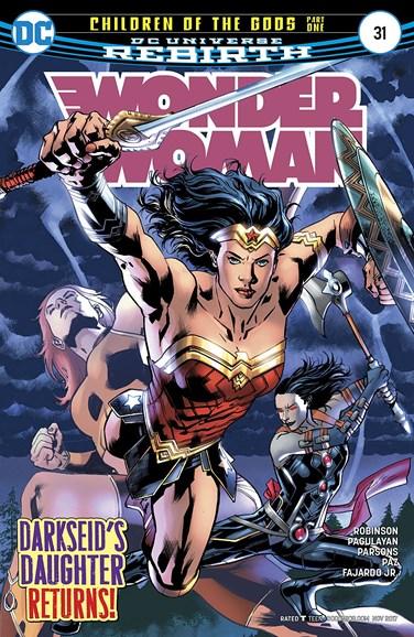 Wonder Woman Cover - 11/15/2017