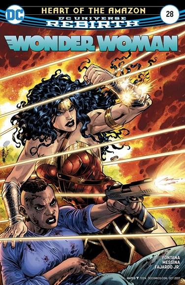 Wonder Woman Cover - 10/1/2017