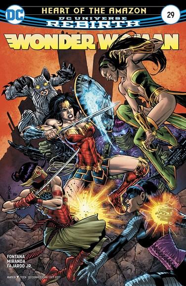 Wonder Woman Cover - 10/15/2017