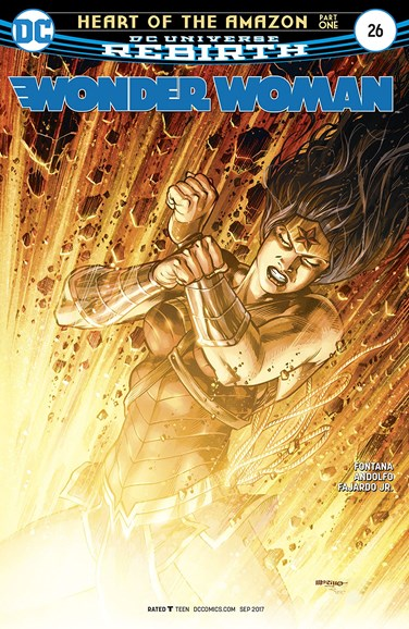 Wonder Woman Cover - 9/1/2017
