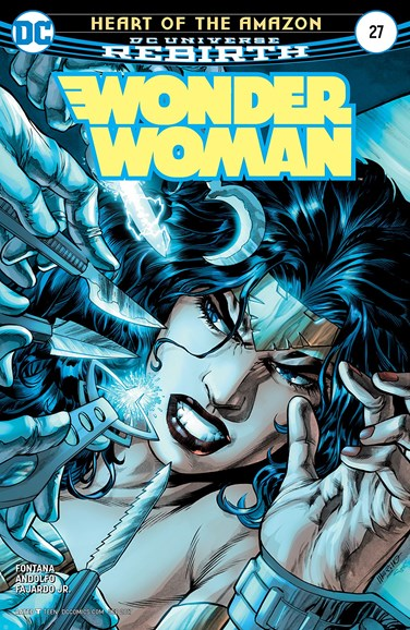 Wonder Woman Cover - 9/15/2017