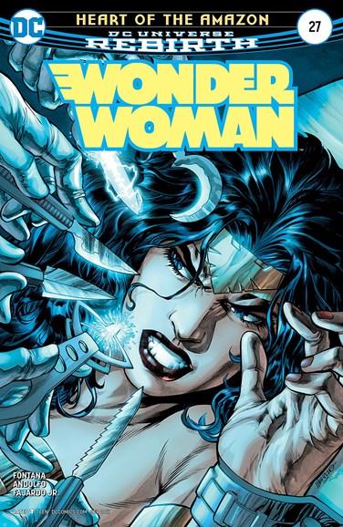 Wonder Woman Cover - 9/15/2017