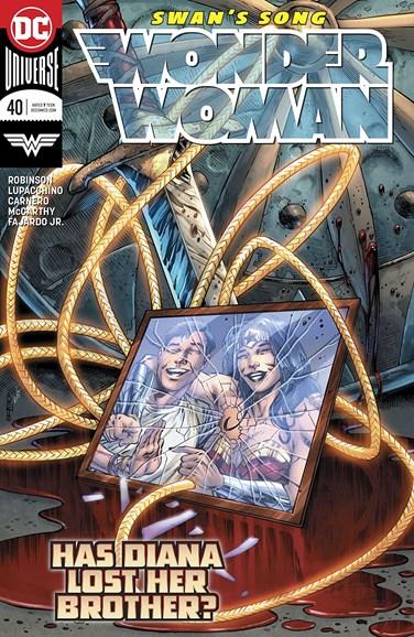 Wonder Woman Cover - 4/1/2018