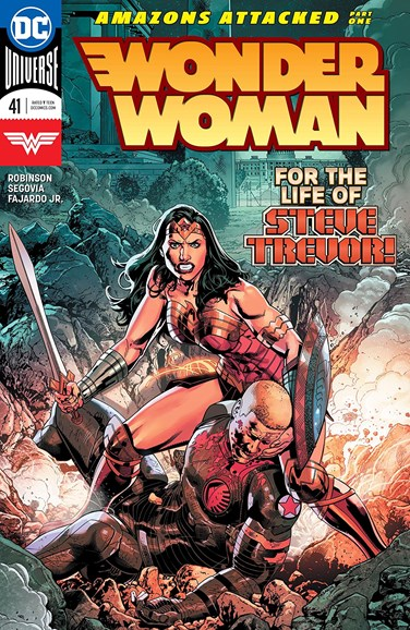 Wonder Woman Cover - 4/15/2018