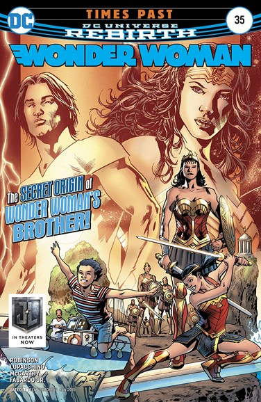 Wonder Woman Cover - 1/15/2018