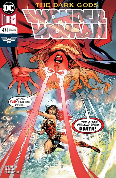 Wonder Woman Cover - 7/15/2018