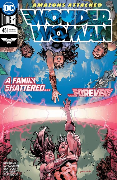 Wonder Woman Cover - 6/15/2018