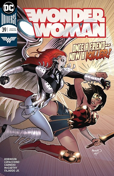 Wonder Woman Cover - 3/15/2018