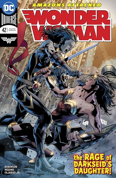 Wonder Woman Cover - 5/1/2018