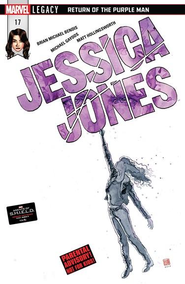 Jessica Jones Cover - 4/1/2018
