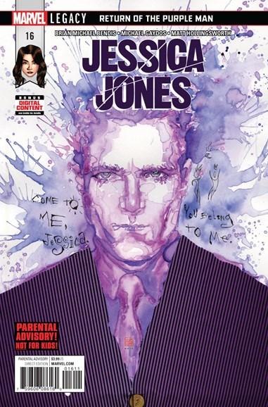 Jessica Jones Cover - 3/1/2018