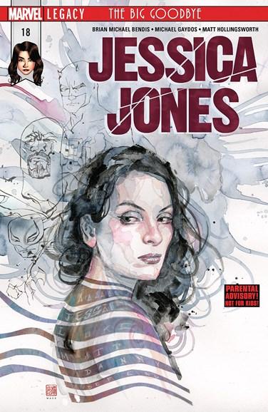 Jessica Jones Cover - 5/1/2018